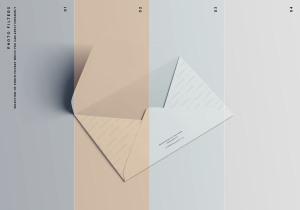 C6信封外观设计样机模板 C6 Envelope Mockup插图9
