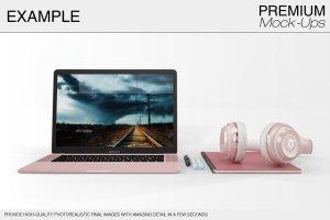 苹果MacBook Pro笔记本电脑样机展示模型mockups插图14
