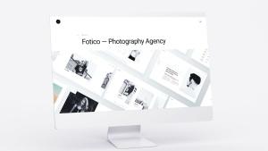 网站UI界面设计效果图预览白色iMac电脑样机模板 White iMac Mockup插图7