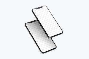 iPhone XS Max智能手机APP应用UI设计效果图样机05 iPhone XS Max Mockup 05插图2