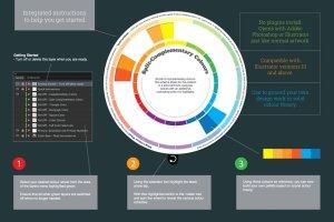 设计师专用色盘对色设计工具 Colour Theory Design Tool插图5