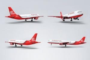 空客A321空中巴士中短程客机样机 Jet Airplane A321 Mock-Up插图3
