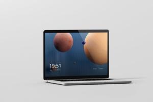 高分辨率笔记本电脑样机 Laptop Screen Mockup插图5