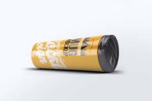 旅行水杯外观设计样机模板 Travel Tumbler Mug Mock-Up插图6