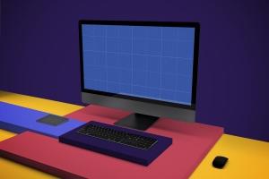 一体机电脑iMac Pro屏幕演示样机模板v2 iMac Pro Mockup V.2插图13
