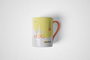 马克杯图案设计多视觉预览样机模板 5 Mug Mockups插图4