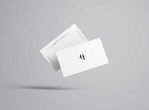 商业/个人名片设计样机模板插图5