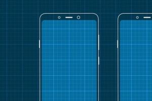iPhoneXS&三星手机网页&APP应用原型设计展示样机模板 iPhoneXS and Samsung Prototype mockup插图4