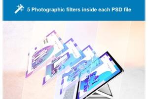 微软一体机电脑样机模板 Surface Studio Mockup V.2插图9