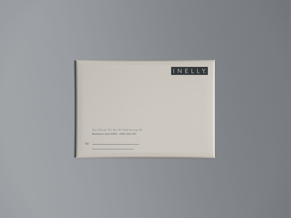 高级信封外观设计效果图样机模板 Paper Packaging Mockup插图