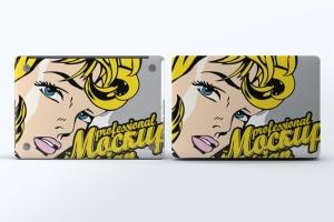 笔记本外观贴纸艺术样机模板 Laptop Body Mock-Up插图7