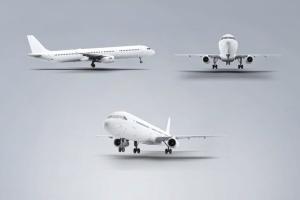 空客A321空中巴士中短程客机样机 Jet Airplane A321 Mock-Up插图6