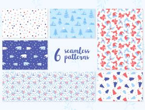 一流设计素材网下午茶:冬季广告banner设计矢量素材[Ai]插图5