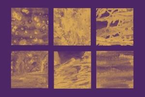 30款油漆手工纸张纹理肌理PS笔刷v3 30 Paint Texture Photoshop Brushes Vol. 3插图3