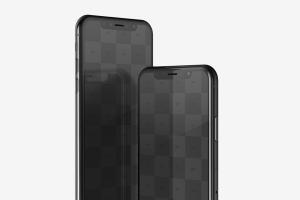 iPhone X智能手机APP设计图演示样机模板02 Free iPhone X Mockup 02插图5