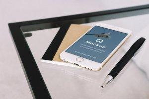 12款苹果笔记本&平板样机模板 Mockup Pack – 12 PSDs插图8