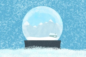 冬天雪景数码绘画AI画笔笔刷 Snow and Winter Brushes for Adobe Illustrator插图2