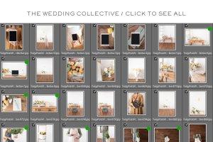 婚礼场景照片样机合集 Ultimate Wedding Stock Photo Bundle插图13
