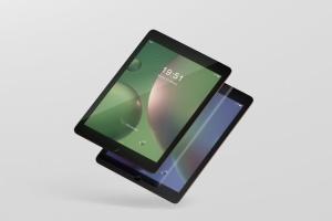 iPad平板电脑屏幕设备样机 Tablet Screen Mockup插图10