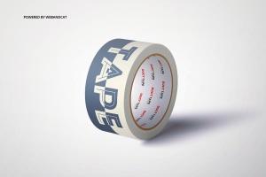 纸胶带外观图案设计样机 Paper Duct Tape Mockup插图4