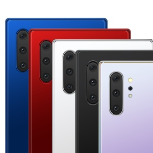 三星智能手机Note 10前视图和后视图样机PSD模板 Note 10 Front and Back Layered PSD MockUps插图4