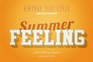 复古条纹风格文本图层样式 Vintage / Retro Text Styles插图4