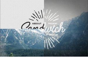 复古怀旧风格照片图层样式 Sandwich – Photo Overlays Creator插图4