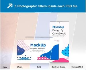 简约风格三星Note 10智能手机样机模板 Clean Note 10 Mockup插图8