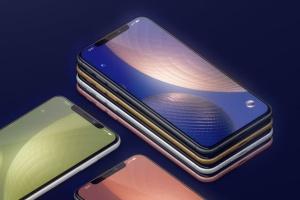 高品质的iPhone XS Max智能手机样机模板 Phone XS Max Mockup插图4