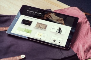 简约风办公桌场景iPad Pro平板电脑样机v2 IPad Pro Mockups V2插图2
