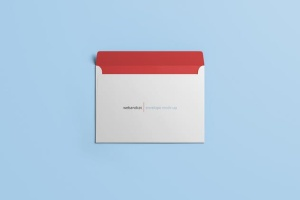 公司/企业信封设计样机模板 Envelope C5 / C6 Mock-up插图8