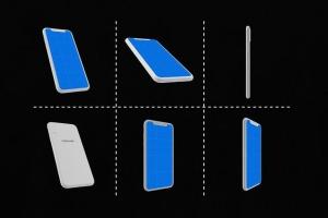 极简主义 iPhone X 样机模板 Minimal iPhone Mockup插图5