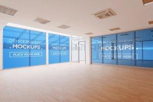 20多个办公室品牌样机展示模型mockups插图13