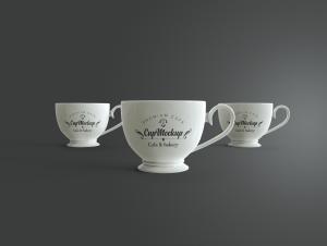 陶瓷茶杯咖啡杯外观设计样机模板v2 Cup Mockup 2.0插图9