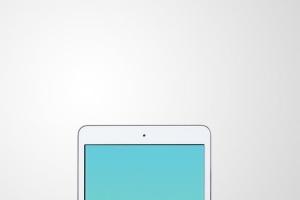 手持iPad Mini设备演示样机模板 iPad Mini Studio Mockups插图7