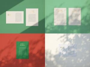 品牌VI设计系统办公用品印刷品套件样机 Stationary Mockup — Set 1插图6