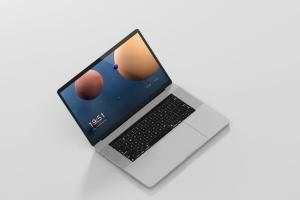 高分辨率笔记本电脑样机 Laptop Screen Mockup插图11