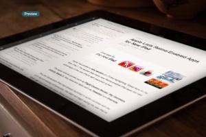 平板APP应用界面设计演示样机模板 Black iPad Tablet App UI Mock-Up插图9