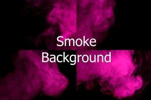 抽象紫色烟雾背景 Abstract purple smoke hookah.插图1