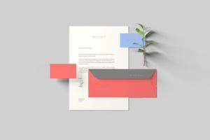 创意办公用品套件品牌VI设计预览样机 Branding Stationery Mockups插图7
