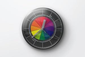 逼真圆形传统指针挂钟样机 Wall Clock Mockup插图6