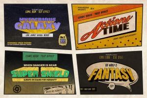 漫威&DC欧美复古漫画插画设计工具包插图(4)
