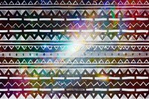 创意阿兹特克水彩画笔笔刷 Aztec Watercolor Brushes插图4