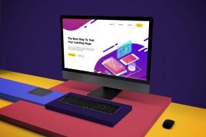 一体机电脑iMac Pro屏幕演示样机模板v2 iMac Pro Mockup V.2插图7