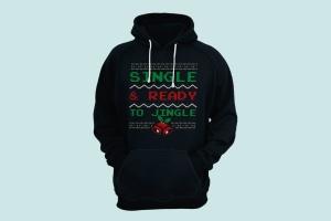 圣诞叮当毛衣T恤印花手绘图案设计素材 Christmas Jingle Sweater T-Shirt Xmas Retro Party插图4