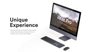 5K高分辨率iMac Pro一体机多角度样机模板 iMac Pro Kit插图16