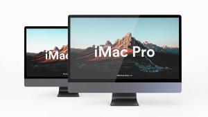 5K高分辨率iMac Pro一体机多角度样机模板 iMac Pro Kit插图9