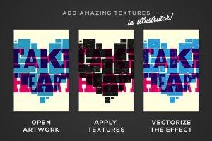 微粒沙砾纹理图层样式 PitStop – Subtle Texture Effects插图6