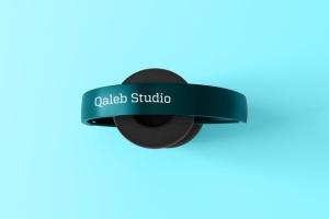 高品质头戴运动音乐耳机样机模板 Headphones Mockup插图4
