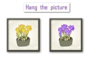 春天藏红花水彩插画设计素材 Crocus. Spring Flowers collection插图6